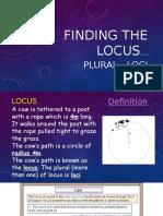 finding the locus