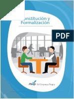 1.-Constitucion y Formalizacion