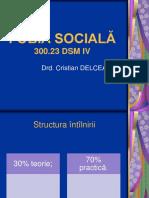 Fobia Sociala