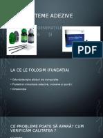 Prezentare Sisteme Adezive Costache Cosmin-Mihai Format 2003