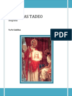 San Judas Tadeo Biografia