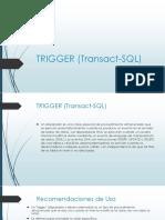 Triggers en SQL