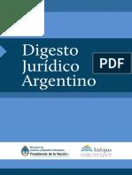 Digesto Juridico Argentino