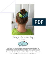 Easy Scrunchy Tutorial
