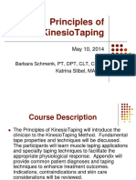 Principles of KinesioTaping 2014