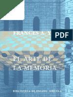 Yates, Frances - El arte de la memoria.pdf