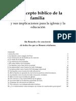 EL CONCEPTO BIBLICO DE LA FAMILIA