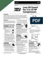 Tf0628 Operating Instructions and Parts Manual