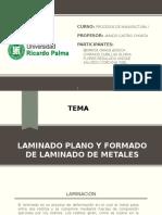 Laminado Plano y Formado de Laminado de Metales