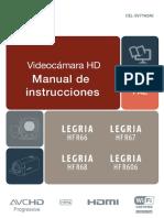 Legria Hf r66 Hf r67 Hf r68 Hf r606 Instruction Manual Es