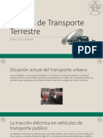 T6 -Medios de Transporte Terrestre