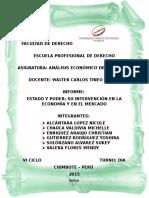 Informe de Analisis Economico Del Derecho
