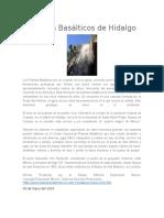 Prismas Basálticos de Hidalgo