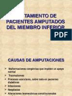 Tratamiento de Pacientes Amputados Del Miembro Inferior