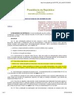 DECRETO FEDERAL - nº 8538 - 2015 - TRATAMENTO DIFERENCIADO AS MPE´S.