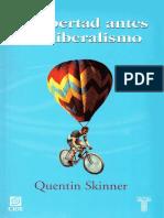 La Libertad Antes Del Liberalismo