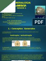 Sesion 1.- Mineralogia Optica Conceptos - Objetivos