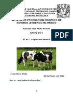 Sistema de Producción Pecuaria Moderna de Bovinos en México