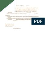 Information Technology Assignment Term 1Form 3