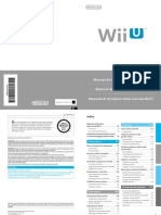 Wii U Operations Manual ITA