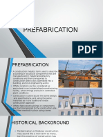 Pre Fabrication in Architecture