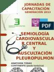 Semiología Cv Central y Auscultación Pp