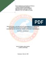 Informe Completo - Investigación Educativa