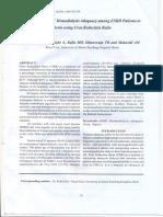 Assessment of Haemodialysis