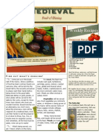 Medieval Feasts Newsletter[1]