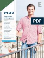 ESADE MSc Brochure 2015