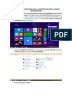 Manual Configuración Regional e Importar Notas Plataforma EducarEcuador
