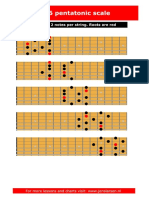 m6 Pentatonic Scales