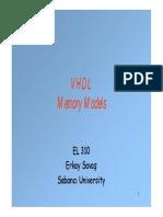 Memory Models
