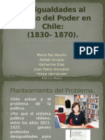 Desigualdades Al Acceso Del Poder en Chile