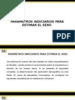 Parámetros Indiciarios Para La Estimación Del Sexo.- Cruz Pérez Rafael David