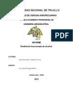 Destilacion Fraccionada - Chapoñan Cueva Jordy