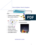 Texto Teorico de La Quimica General e Inorganica