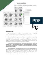 Estructura Interna Y Externa Del Texto Dramático Aves