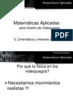 Los Videojuegos en la Matematica