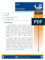 Modul Pendahuluan, Strategi Operasi Dan Manajemen Proyek (1, 2, 3 & 10)