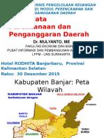 (1) Kondisi Umum Wilayah