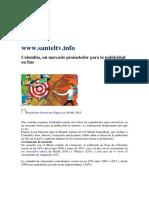 Santel Inversion Publicitaria 1