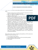 Evidencia 7 Reporte Sobre La Interpretacion de Herramientas Estadisticas