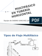 Flujo Multifasico Tuberias Horizontales