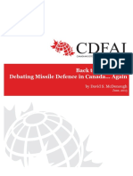 Canada Missile Defense