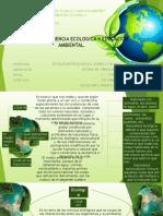 Ecologìa, Educacion Ambiental, Conciencia Ambiental.
