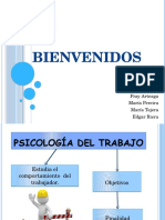 Diapositiva Psicologia Del Trabajo