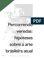 Hipóteses Sobre a Arte Brasileira Atual- FABRIS