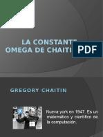 La Constante Omega de Chaitin (1)
