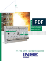 Littelfuse Relays Pgr 8800 Arc Flash Brochure Spanish 01